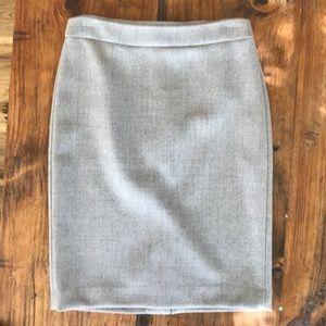 JCrew wool lined skirt.